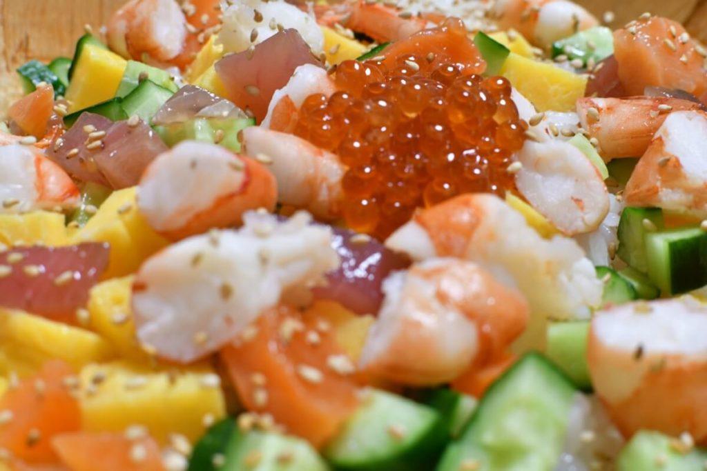 中華風ちらし寿司