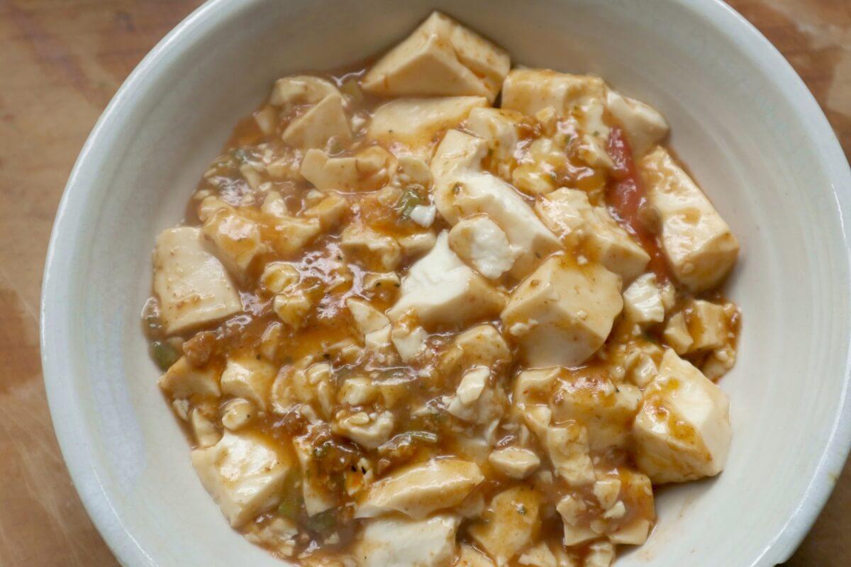 豆腐ふっくら麻婆豆腐