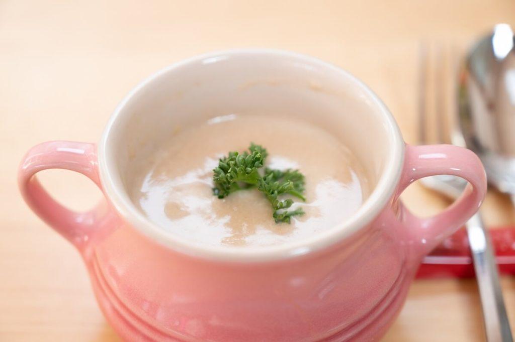 じゃがいものミルクスープ