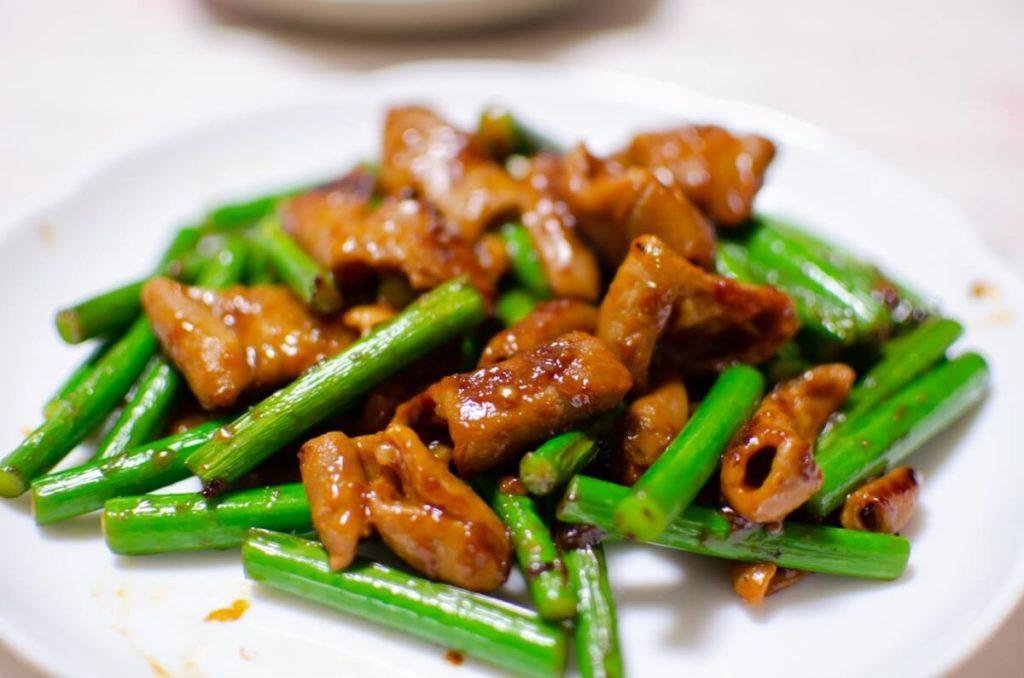 牛肉と春野菜の香り炒め