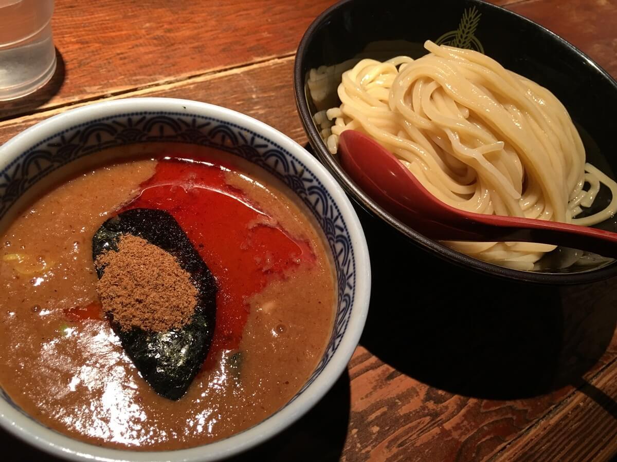 味噌トマトスパイスつけ麺