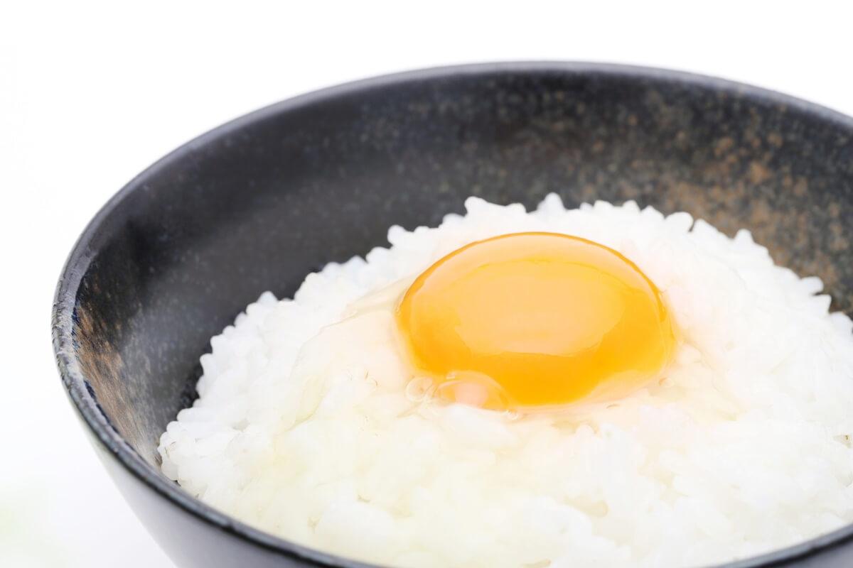 親子丼風卵かけご飯