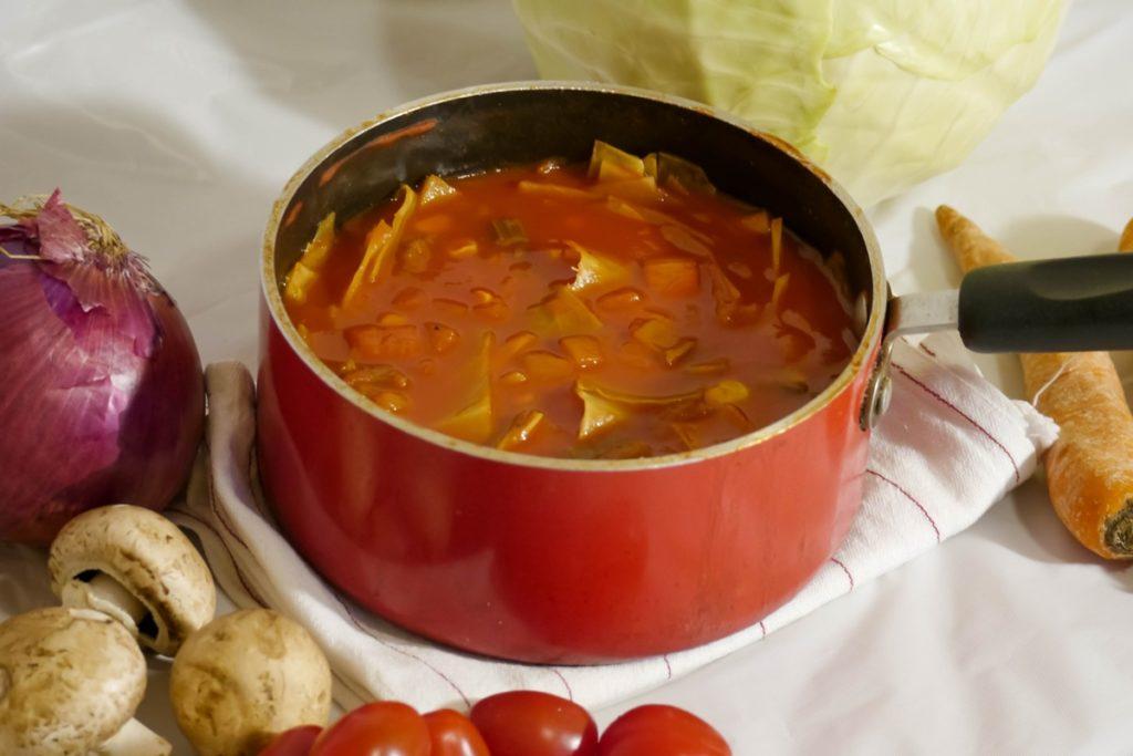 トマトの和風煮込み