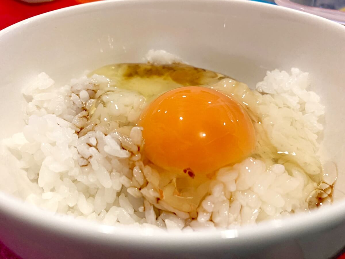 すぐき漬け×醤油麹卵かけご飯
