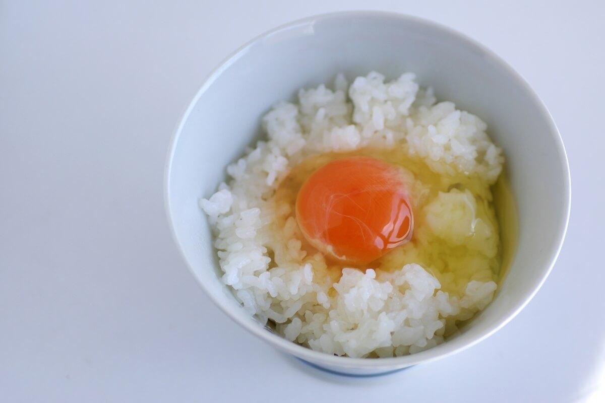 カニ玉風卵かけご飯