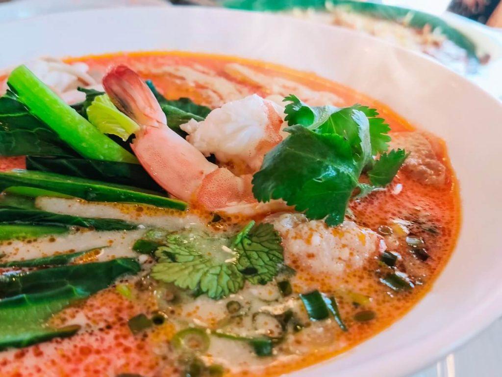 トムヤムクン風えびスープ