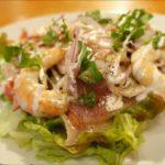 【人生レシピ】まぐろのたたきのねぎだれサラダの作り方を紹介!金丸絵里加さんのレシピ