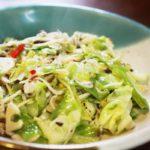 【きょうの料理ビギナーズ】キャベツのペペロンチーノ風の作り方を紹介!藤野嘉子さんのレシピ
