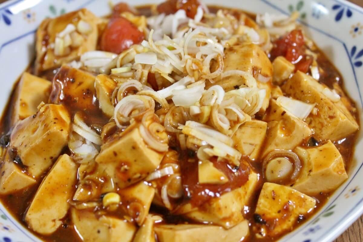 トマトマーボー豆腐