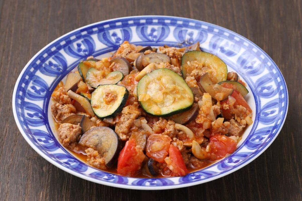 ズッキーニの韓国風牛肉炒め