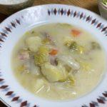 【土曜はナニする】リュウジさんのレシピ鶏肉と白菜のトロトロシチューの作り方を紹介!