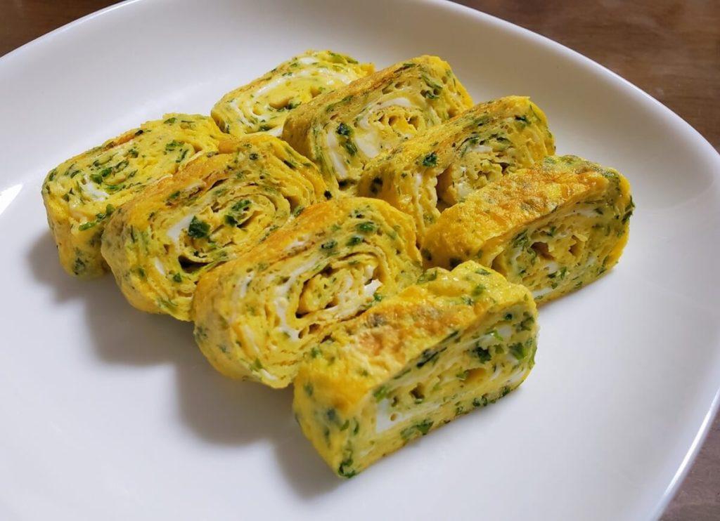 ひじきの厚焼き卵