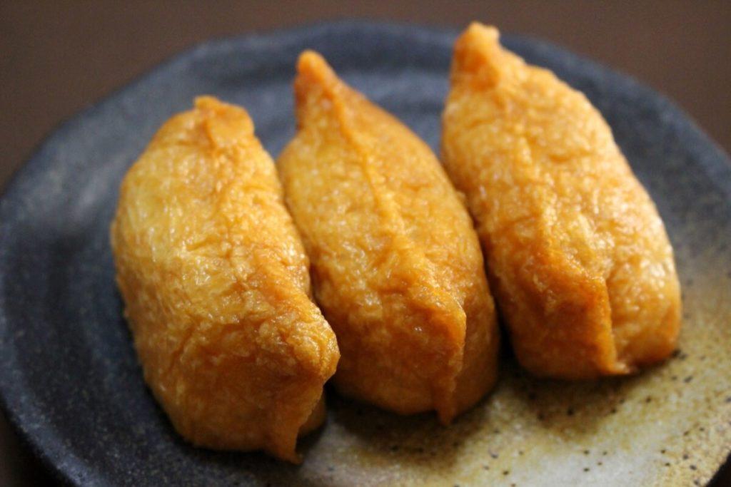 いなり寿司の丸焼き