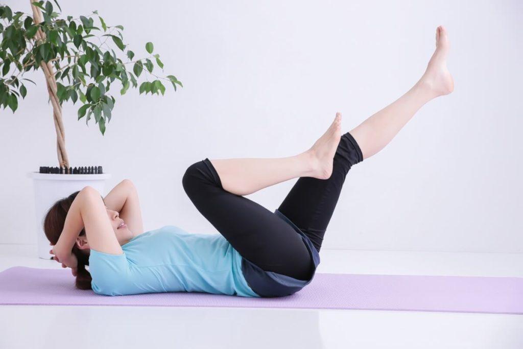 ポッコリお腹改善体幹バランストレーニング
