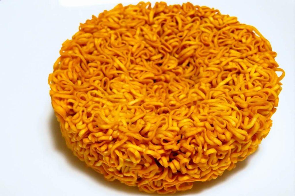 チキンラーメン油鍋