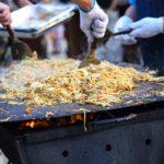 【教えてもらう前と後】レモンペッパー焼きそばの作り方を紹介!たけだバーベキューさんのレシピ!