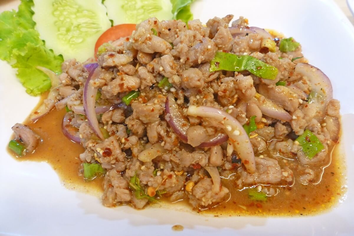 タイの郷土料理ラープ