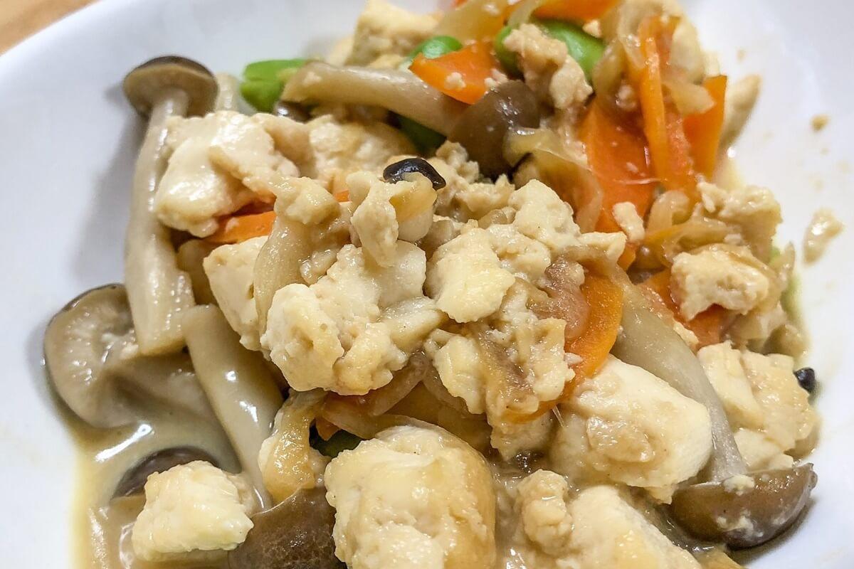 【きょうの料理】嫁いり豆腐の作り方を紹介!平野レミさんのレシピ