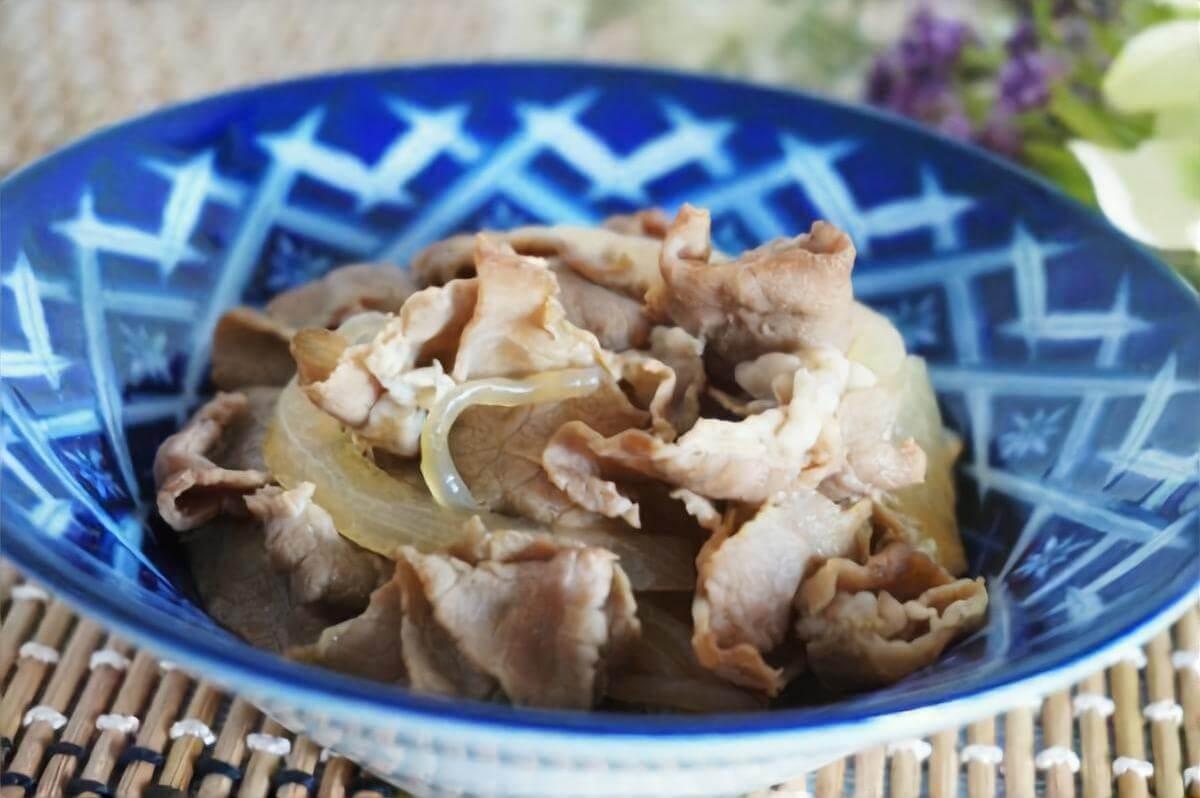 牛肉のカレー炒り煮