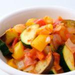 【おしゃべりクッキング】カレー風味のラタトゥイユの作り方を紹介!小池浩司さんのレシピ