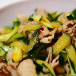 【きょうの料理】きゅうりとにんにくのサッと炒めの作り方を紹介!斉風瑞さんのレシピ