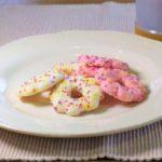 【グレーテルのかまど】マルゲリータ王妃の花のクッキーの作り方を紹介!中濱尚美さんのレシピ