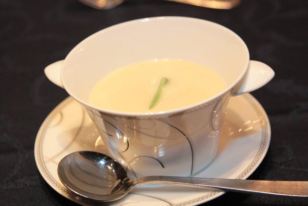 豆乳味噌汁