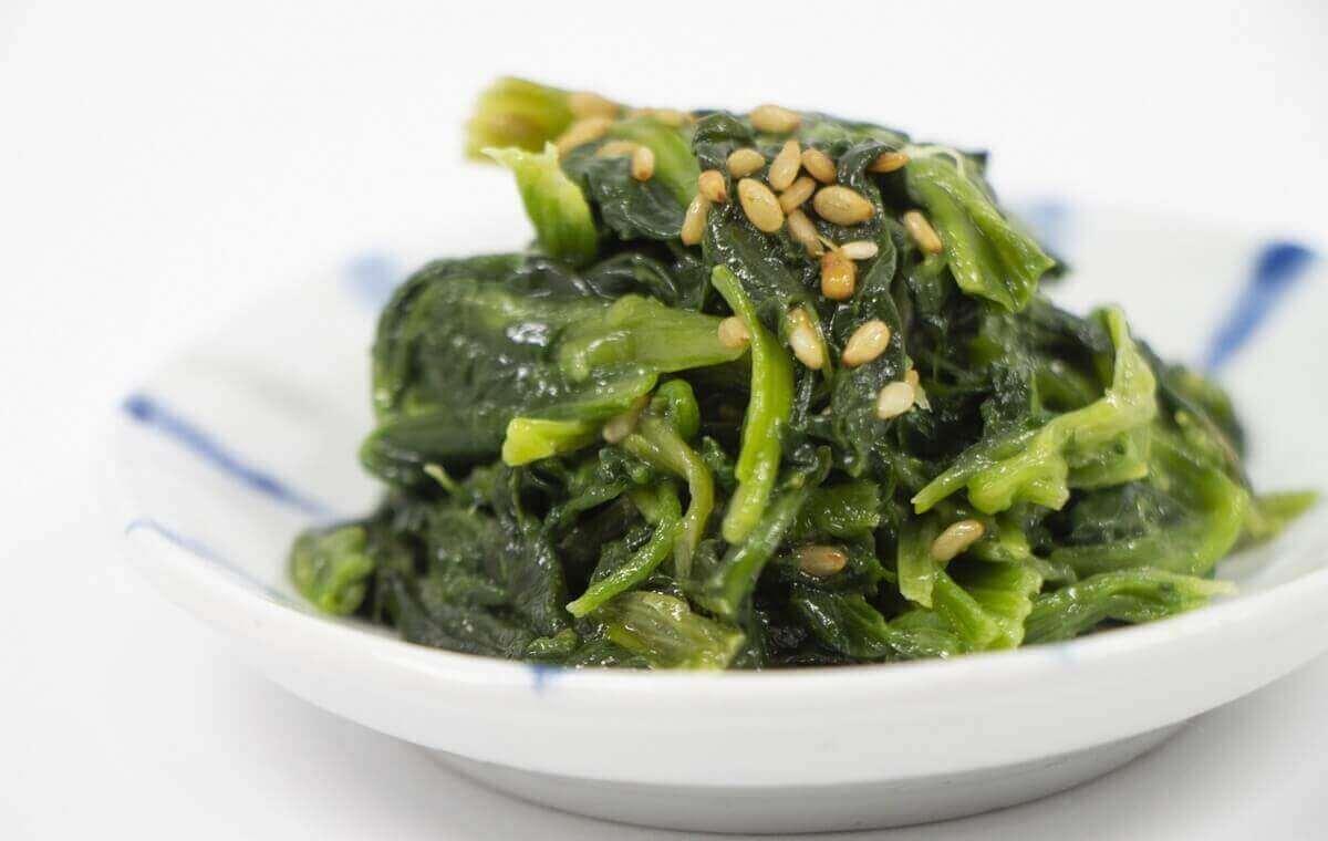 【OH!ソレ!み~よ】ほうれん草のナムルの作り方を紹介!藤本美貴さんのレシピ