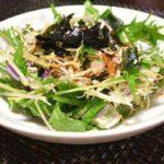 【家事ヤロウ】三つ葉と玉ねぎのサラダの作り方を紹介!和田明日香さんのレシピ