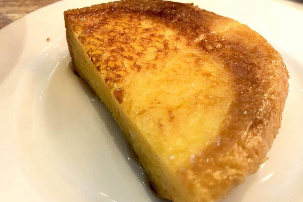 ふらのバターカステラのフレンチトースト