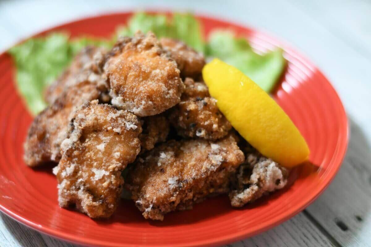 【3分クッキング】鮭のから揚げ甘辛がらめフライドポテト添えの作り方を紹介!石原洋子さんのレシピ