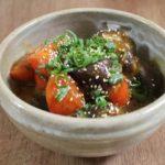 【きょうの料理】なすと豚肉の中国風にんにく漬けの作り方を紹介!江上栄子さんのレシピ