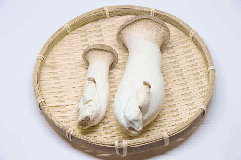 エリンギと豚肉のチーズ焼き