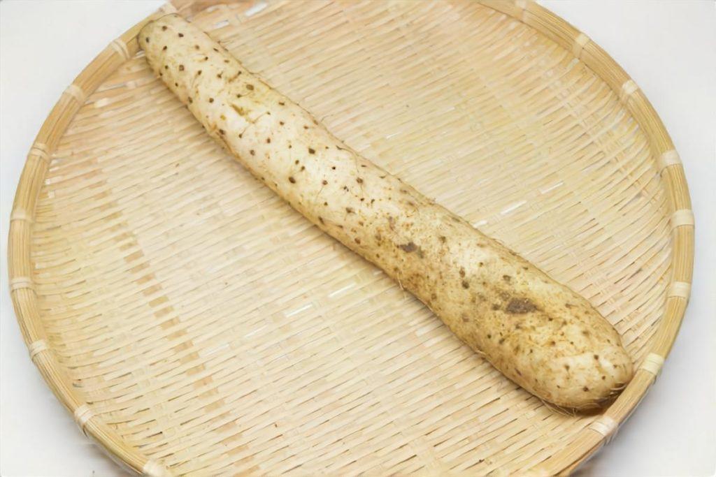 長芋とじゃこのバター醤油炒め