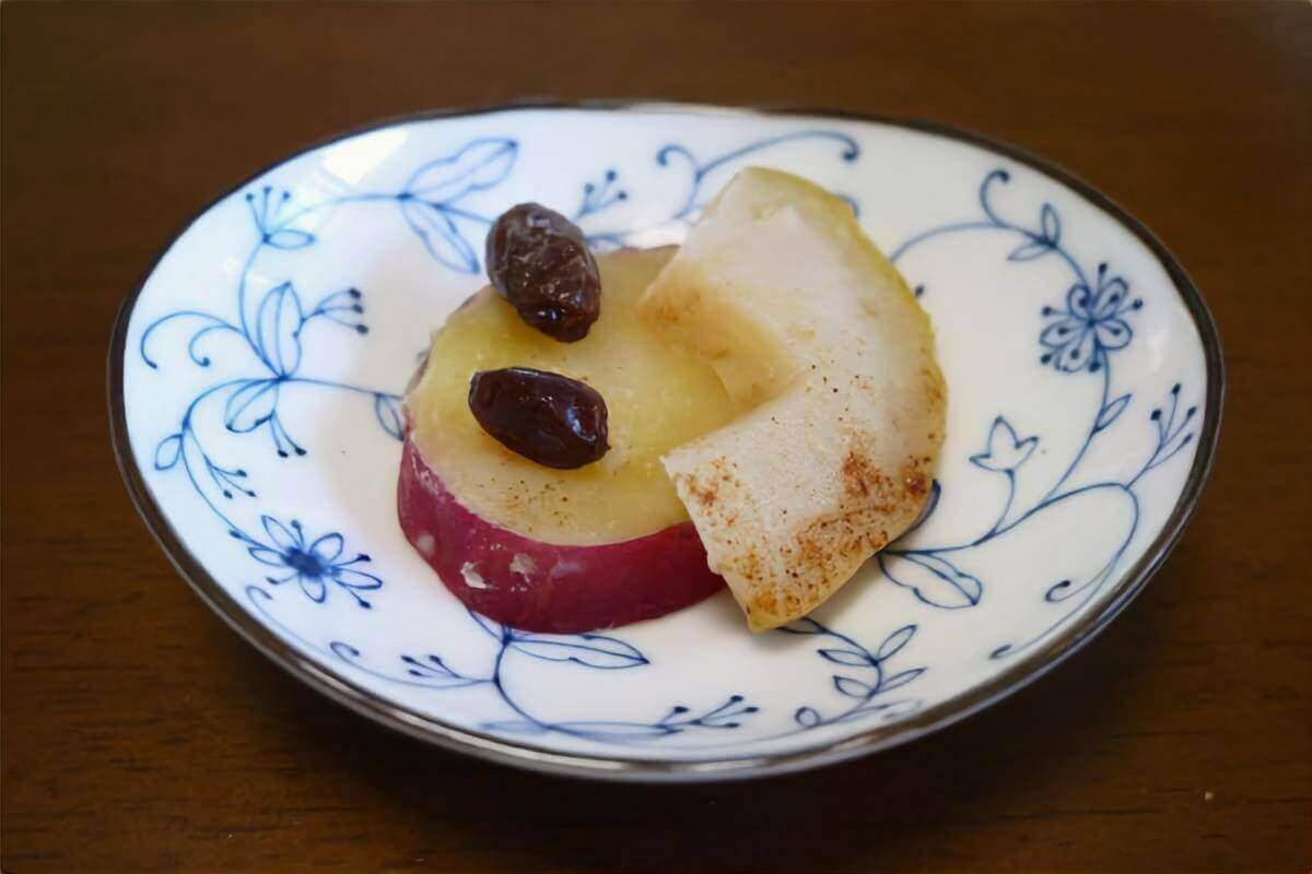 【クックルン】サツマイモとリンゴの重ね煮の作り方を紹介!サツマイモのレシピ