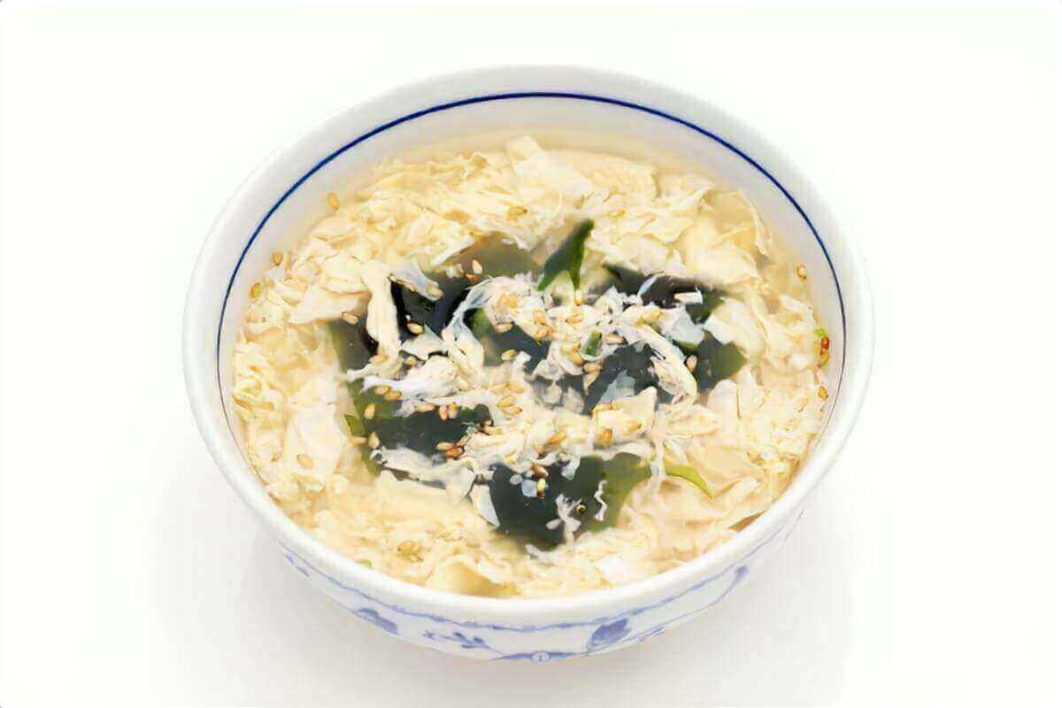 【あさイチ】わかめと卵のスープの作り方を紹介!栖原一之さんのレシピ
