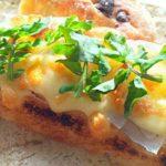 【相葉マナブ】柿レシピ!モッツァレラ柿トーストの作り方を紹介!旬の産地ごはん